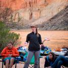UC Davis students in the Grand Canyon
