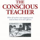 Excerpt of book cover showing title, The Conscious Teacher