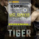 poster for screening of film Tiger