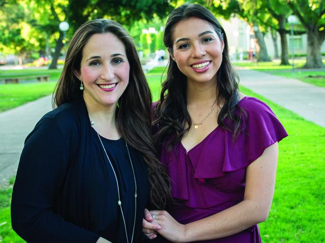 Mother-daughter alumni pursued passions with help from their majors