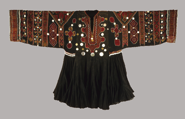 20th century woman's dress from the Afghanistan-Pakistan border
