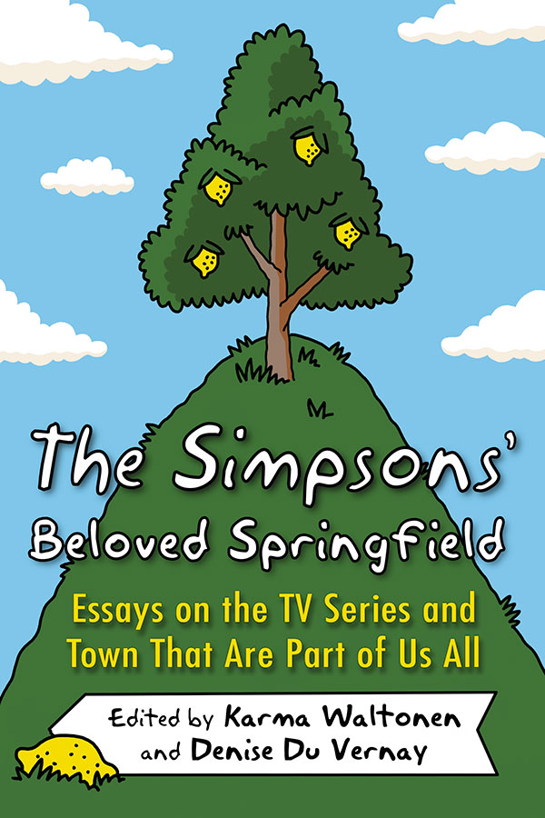cover of book on the Simpsons by Karma Waltonen, UWP