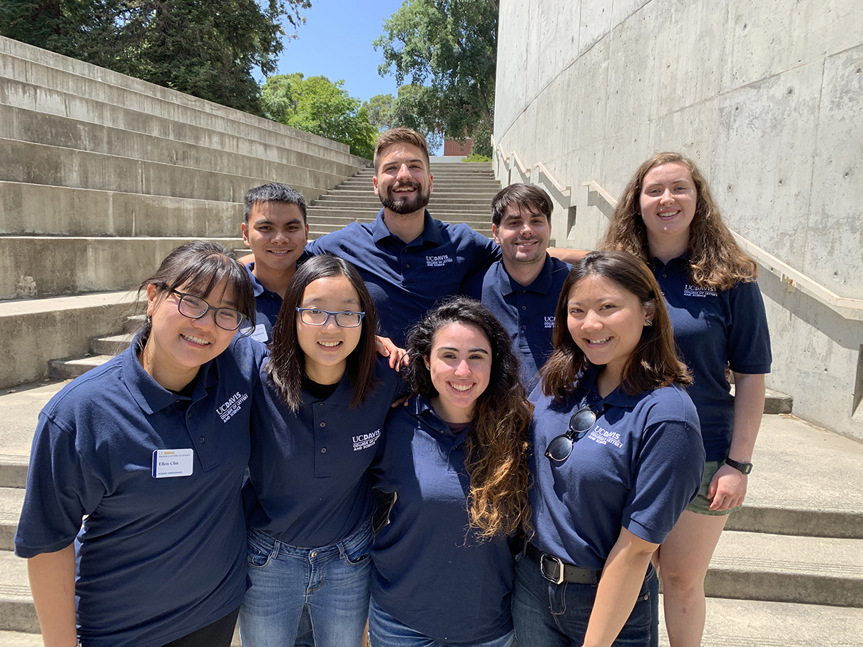 2018-19 College of Letters and Science Ambassadors