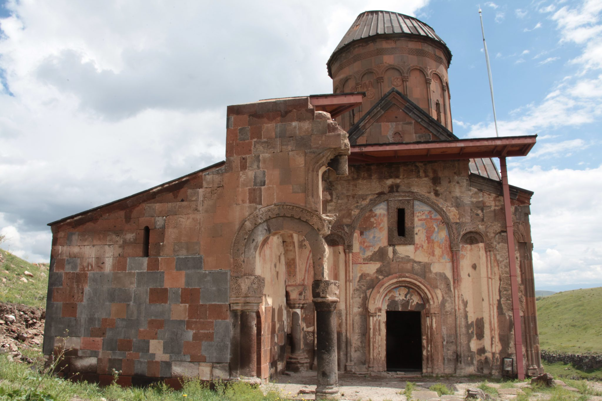 Picture of a medieval Armenia church
