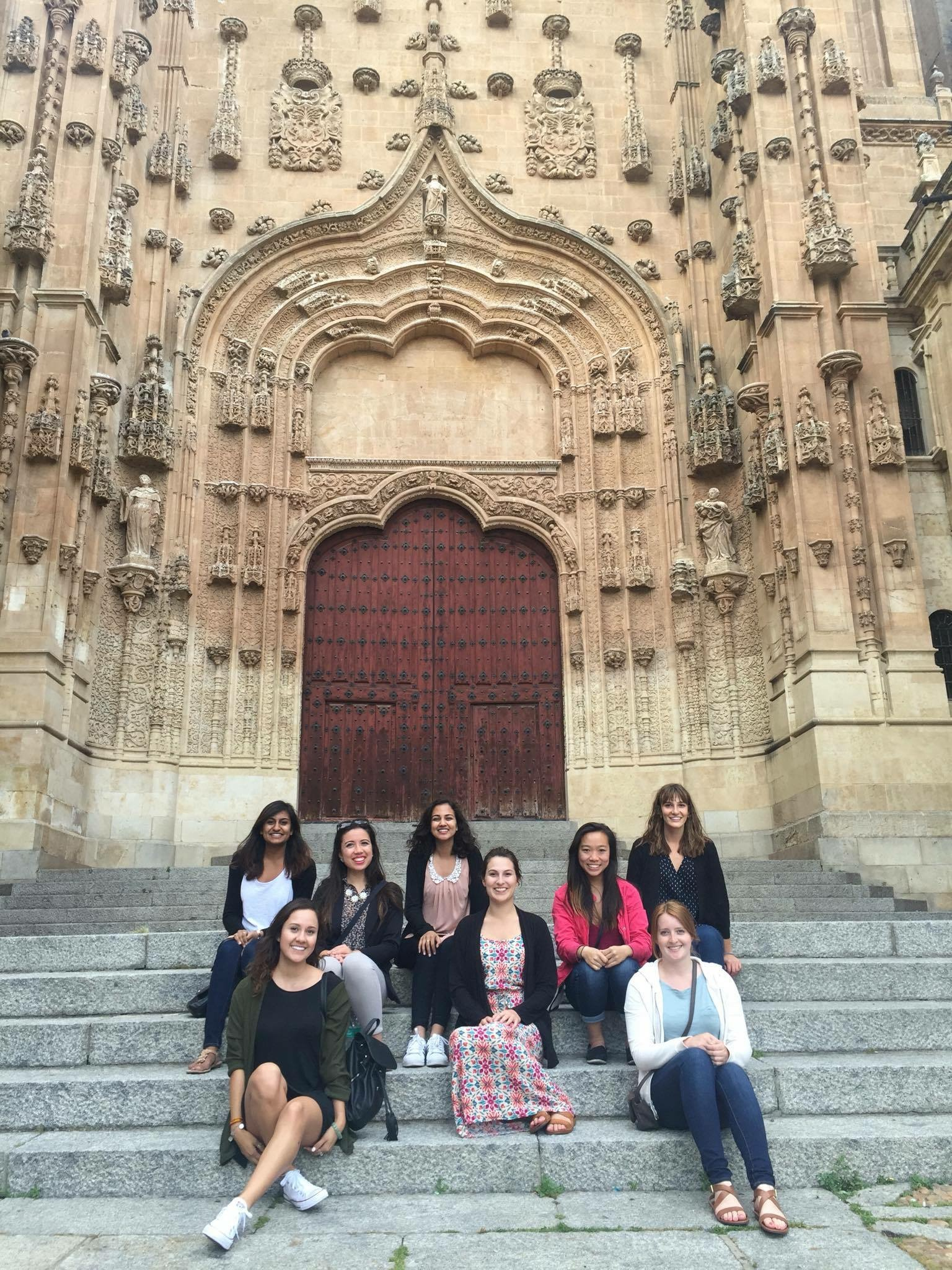 Students UC Davis study abroad Spain