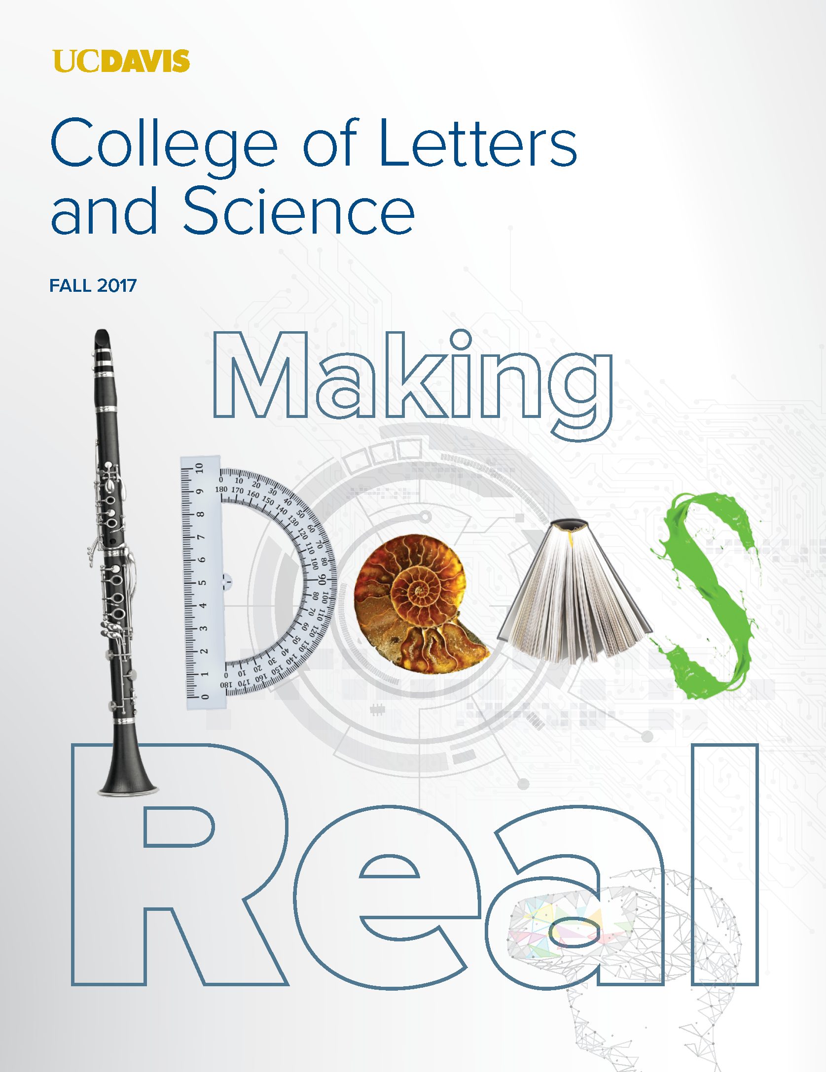 Letters and Science Magazine Fall 2017 Cover