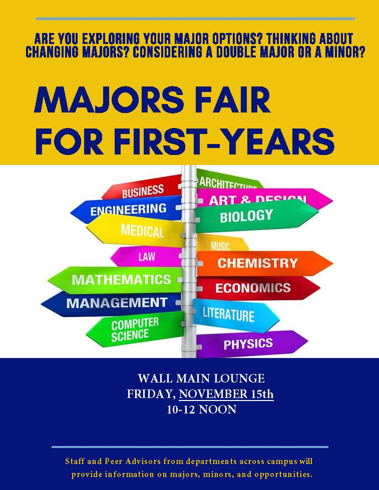 Majors Fair Flyer
