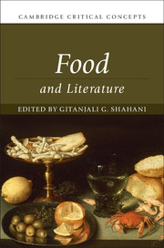 Book on Food and Literature English professors