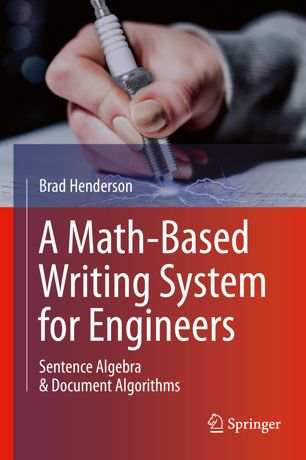 book cover showing a hand writing with a pen
