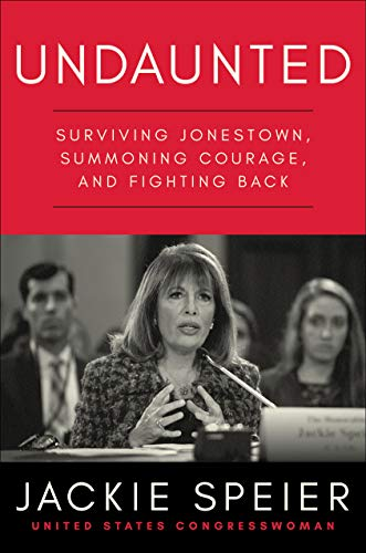 book cover showing Speier speaking in Congress