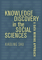Cover of book with title over rows of words such as crawlers, websites, data, matrix