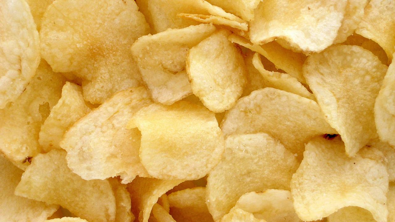 Potato chips - the kind of unhealthy good people can't stay away from study from UC Davis Dept. of Communicaiton