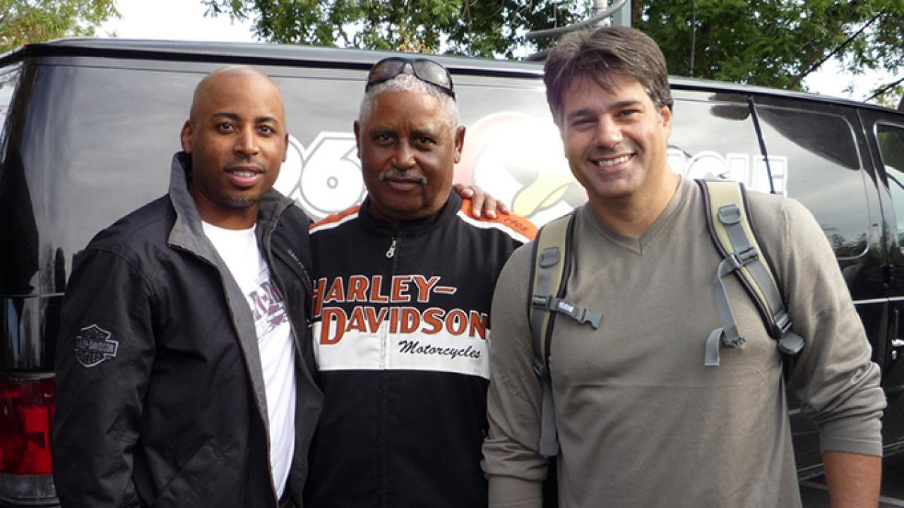DeWayne Quinn, father and Dave Camboia