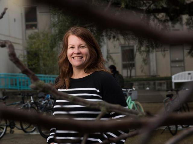 Amy Lowrey, humanities advisor in the UC Davis College of Letters and Science