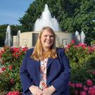 After interning as a safety analyst with the Federal Aviation Administration in Washington, D.C., her senior year, Emily Kaar '17 was soon hired as a full-time policy analyst at the Federal Reserve Bank of San Francisco. (Emily Kaar courtesy photo)