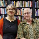Picture of Anna Maria Busse Berger and Henry Spiller, music faculty at UC Davis