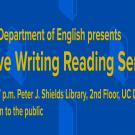 Creative Writing Reading Series - UC Davis