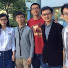 The UC Davis winning team: Nana Wang, Qi Gao, Jilei Yang, Minjie Fan, Chunzhe Zhang and Hao Ji