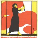 poster German female suffragette