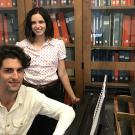 Music composition and creative writing collaborators Ryan Suleiman and Cristina Fries